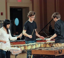Drumming at Brown