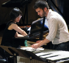 Piano and Percussion at Brown